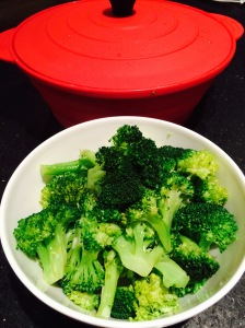 Lemon Garlic Brocolli