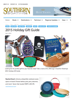 Southern Boating Holiday Gift Guide 2015 v1.0.001